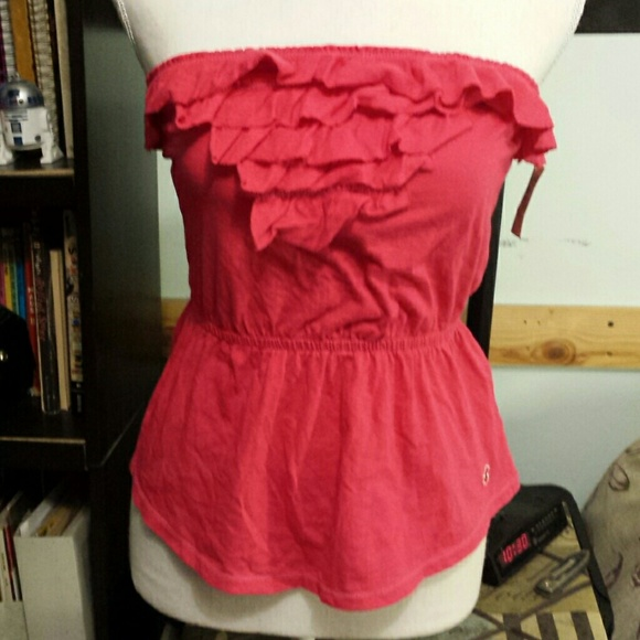 9147ac5abdd Hollister tops adorable tube top cutesexygirly poshmark jpg 580x580 Hollister  cute tube top dresses